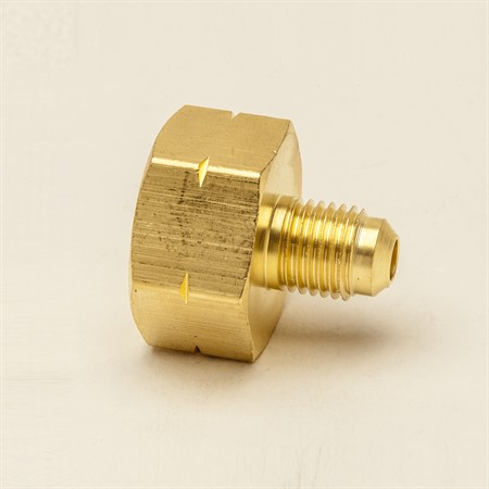 "Cylinderadapter 1/2""x1/4"" flare"